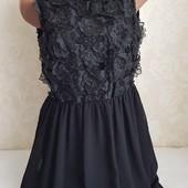 Очень красивое нарядное платье !!! Размер 10