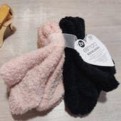 Германия!!! Лот из 2 плюшевых женских махровые носки! 35-38 размер!