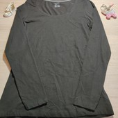 Германия!!! Базовый женский реглан, лонгслив! 40/42 евро! Цвет черный, равномерный!