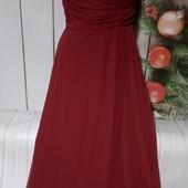 Вау! Шикарное шифоновое платьице размер 46