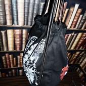 Большой вместительный рюкзак для обуви, учебников, покупок. Плотный текстиль, прочные веревки. 47*35