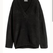 H&M Стильный актуальный свитер оверсайз. Новый, с биркой