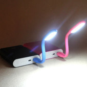 Готовим подарки! Гибкая usb лампа, подсветка для ноутбука, usb фонарик.1шт.