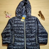 Германия!!! Стеганая демисезонная куртка, курточка для девочки! 92 рост!