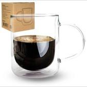 Большая чашка с двойными стенками