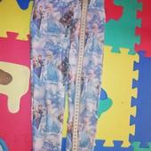 штаны лосины  легинсы для девочки 1+1=3
