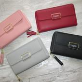 Женское портмоне сумка клатч baellerry show you В лоте одна - красная или розовая