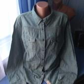 Женская джинсовая рубашка, р.50-52