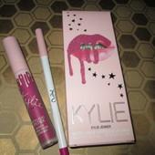 Помада и карандаш Kylie August Bug