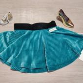 Name it!!! Нарядная велюровая юбка для девочки! 86 рост!