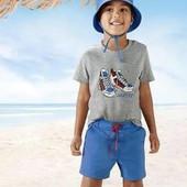 Lupilu® летний комплект из трех частей чистый хлопок, комбинация швов, рубашка и кепка