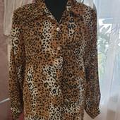 Очень стильная, нарядная и красивая блузка, размер 16 (50)+-, смотрите замеры