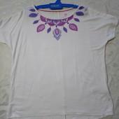 Pepperts Германия Отменная футболка девочке 146/152р 95% вискоза Нюанс