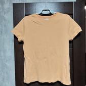 Фирменная коттоновая футболка в отличном состоянии р.16-18