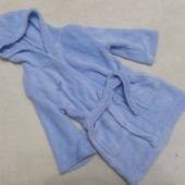 Мягусенький флисовый халат на 2-3 года
