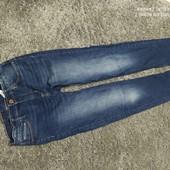 Люкс! стильные джинсы скинни р. 146 см 10/11 лет оч.хорошего сост