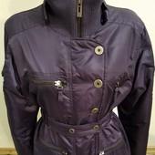 демисезонная куртка черничного цвета,размер L, Испания