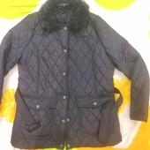 Утепленная стеганная демисезонная куртка М(14)