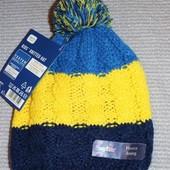 Новая яркая шапка на флисе 1-4 года из Германии тм lupilu