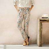 Женские льняные штаны esmara 40 евро.