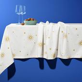 Шикарная, праздничная скатерть от Tchibo (Германия), 140x180 см