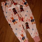 Велюровые штаны George, 1,5-2г / 86-92см