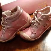 Кожаные ботиночки на девочку, 24размер
