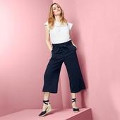 Шикарные брюки кюлоты во французком стиле от tchibo германия размер 46 евро, на наш 52