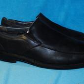 кожаные туфли bass 46 размер