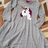 Симпатичное фирменное платье, девочке 3-4лет, замеры