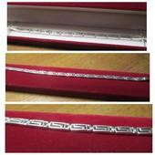 Акция к 8 Марта !Шикарный серебряный браслет -серебро 925пр.