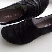 Балетки Marc-art of walking нубук- размер 38-длина стельки-24,5 см