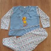 Пижама для девочки. Смотрите замеры (Р.134).