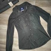 Женская джинсовая рубашка Bershka
