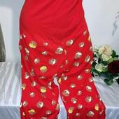 Женские домашние спальные штаны next для беременных, или на большой животик р 20-22