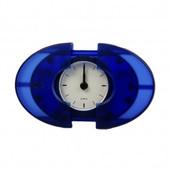 Часы/будильник Oval 9,5х7см Синий, Германия