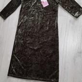 Платье бархатное freebird р. xs