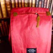 Легкий вместительный красный городской рюкзак