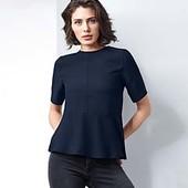 Стильная, элегантная блузка из крепа от Tchibo (германия) размер 44 евро=50-52