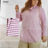 Рубашка туника Лен +хлопок Esmara L 46+6(52)