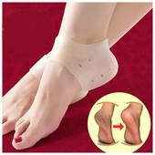 Силиконовые вкладыши от трещин на пятках и защиты стоп, лечение пяточных шипов, шпор Heel anti-cr