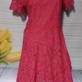 Вау! Шикарное кружевное платье размер 46