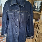 Стильный котоновый пиджак ветровка