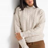 Мягкий, уютный, качественный свитер. Пр-во Бангладеш. р-р: 56/60. новый. описание