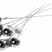 Декоративные металлические шары стиле лофт, один в лоте