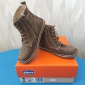 ♥️ Новые! Кожаные деми ботинки Chicco для мальчика. Размер 28 ♥️