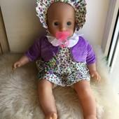 Озвученная куколка в новом костюмчике 47см. Lissi Dolls elc!!!!