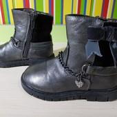 Демисезонные стильные ботиночки, размер 23, стелька 15 см