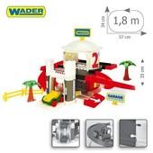 НП бесплатно Гараж с лифтом - 2 уровня kid cars Wader Вадер 50300 паркинг парковка дорога станция