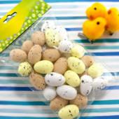 Яйца из пенопласта 30х20мм, пасхальный декор